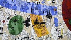 Argentan : Fresque des frres SINEUX (garpar) Tags: france coolpix normandie orne bassenormandie argentan coolpixp5000 garpar