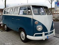 VW T1 Bus (TIMRAAB227) Tags: auto bus car vw volkswagen bonn coche van kombi transporter t1 bonnerbogen