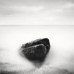 san diego : ocean beach (William Dunigan) Tags: ocean california park sunset white motion black blur beach water point photography san rocks waves tide low diego william cliffs southern minimalism loma dunigan