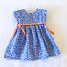 Blue Geranium Dress