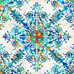 Colorful Pattern Art - Color Fusion Design 6 By Sharon Cummings (BuyAbstractArtPaintingsSharonCummings) Tags: snowflake blue red snow color green floral sign modern asian colorful aqua pattern bright lace feminine contemporary vibrant indian highcontrast flake mandala thai brightcolors elegant delicate healing primary brilliant bold chakras intricate asianart indianart blueandred healingmandala thaiart vintagepattern colorfulart sharoncummings uniquedesign colorfulpatterns chakracolors elegantpattern southeastasainart