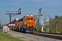 The GALCHI (Trainboy03) Tags: santa burlington illinois il fe northern bnsf williamsfield 2759