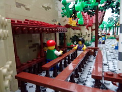 The People of Laaf (Swan Dutchman) Tags: fairytale lego amusementpark efteling monorail attraction kaatsheuvel laven laaf volkvanlaaf lavenlaar slakkenhuys peopleoflaaf