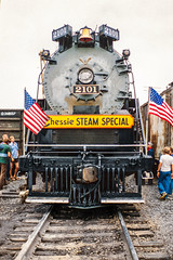 Chessie Steam Special 04 (DNO_Dennis) Tags: reading us unitedstates michigan headlight t1 grandledge 484 smokebox 2101 nikones1