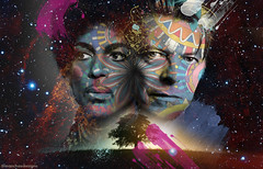 Prince & Bowie Tribute (ManchasDesigns) Tags: music art bowie prince icon designs manchas