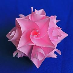 Curler - 4 assix view (Rosy_Ve) Tags: origami curler paperfolding paperwork modularorigami kusudama hermanvangoubergen andreyhechuev