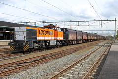 Locon 1506 te Apeldoorn 30 april 2016 (Remco van den Bosch 72) Tags: locon 1506 huisvuiltrein diesellocomotief diesel apeldoorn locomotief locomotive netherlands nederland bahnhof bahn railway rails railwaystation train transport treinspotten trainspotting station spoor spoorwegen eisenbahn railroad trein