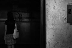 DSCF6623 Ghost (Scofield Chan) Tags: street monochrome hongkong snapshot fujifilm fujinon streetsnap xt1 fujinon35mm