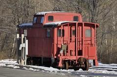 Arkville, New York (10 of 18) (Bob McGilvray Jr.) Tags: railroad ny newyork train pc steel tracks caboose cupola cr prr arkville delawareulsterrailroad