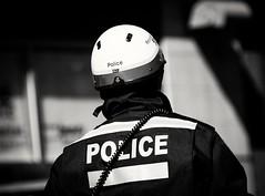 On duty (vinnie saxon) Tags: blackandwhite monochrome march day montreal police parade stpatrick defile nikoniste