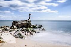 Hengistbury Head (beancaker) Tags: sea sky sand groyne hengistbury