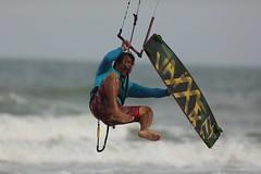 Kite surfing New Year in Thailand (leebanderson201067) Tags: thailand kitesurfing watersports huahin surfboarding kissmykite