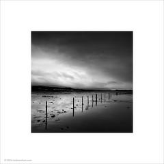 Ravenglass Fence (Ian Bramham) Tags: fence photo mud ravenglass ianbramham astaury