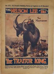 Mastodon British penny dreadful cover (steammanofthewest) Tags: iceage sciencefiction 1920 mastodon pennydreadful nelsonlee dimenovel