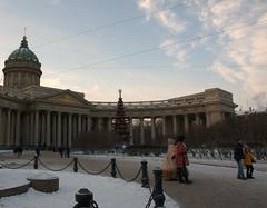 La cathdrale Notre-Dame-de-Kazan /   (moscouvite) Tags: voyage hiver cathdrale extrieur russie saintptersbourg sonydslra450 heleneantonuk