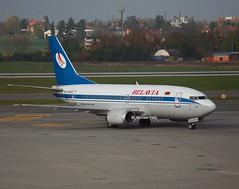 Belavia                                           Boeing 737                                   EW-250PA (Flame1958) Tags: boeing 737 2014 1014 b737 boeing737 pragueairport prg boeing737500 261014 7375 belavia ew250pa b7375 belaviab737