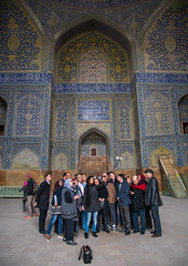 tourists taking a selfie picture inside ameh masjid or friday mosque, Isfahan Province, isfahan, Iran (Eric Lafforgue) Tags: travel people men history tourism vertical architecture persian ancient women asia iran persia mosque tourists architectural historic east indoors souvenir historical iranian sight friday eastern groupofpeople esfahan adultsonly masjid islamic isfahan selfie ispahan  placeofinterest  largegroupofpeople 5people jameh  iro isfahanprovince  builtstructure masjide colourpicture  hispahan irandsc08473