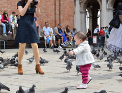 DSC_2247 (erinakirsch) Tags: city travel venice sea people italy bird walking italia feeding pigeon pigeons crowd tourists explore feedingthebirds crowds peoplewatching veneto veniceitaly
