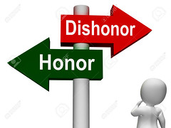 Dishonor Honor Signpost Shows Integrity And Morals (thienan01) Tags: sign 3d character honor virtue ethics signpost shame morality disgrace honour integrity honorable morals reliable reputation ethical dishonor honoured dishonour dishonoured