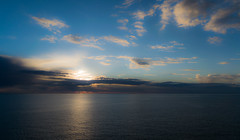 Dreaming this Sea (Athrandel) Tags: sardegna blue light sunset sea sky italy cloud sun water colors clouds photography photo nikon italia sardinia phots d3300