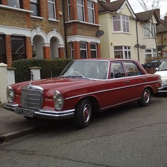 | (uk_senator) Tags: red 1966 mercedesbenz w111 250se