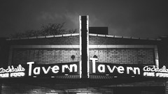 { Tavern } (Web-Betty) Tags: bar colorado denver bnw washingtonpark divebar fujineopan1600 washpark candlelighttavern thecandlelight vscofilm