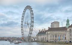 London-wheel_6912 (Peter Warne-Epping Forest) Tags: uk england london tourism londoneye countyhall
