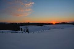 Jonas Sunset (thoeflich) Tags: ohio snow marietta snowfall snowscape snowylandscape snowacape winterstormjonas