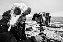 Zhang Yi Maxime (Jean-Jacques Mattei) Tags: portrait blackandwhite seascape iceland chambre noi islande photographe appareilphoto