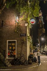 Cafe Chris (Noonski) Tags: chris color colour amsterdam cafe long exposure toren markt kerk hdr jordaan gracht bloem wester