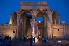 Kom Ombo Temple (erik_madsen1) Tags: africa vacation history temple ancient god egypt egyptian elder crocodile aswan kom ombo hieroglyphs komombo sobek horeoris