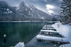 frozen landscape pt II - Lake Hintersee (A.R.F.R) Tags: longexposure schnee winter light sea sky cloud mountain snow seascape mountains cold ice nature water berg clouds montagne germany landscape deutschland photography berchtesgaden licht nikon nuvole fotografie natur himmel wolken wideangle berge filter cielo neve land nikkor kalt eis inverno landschaft montagna freddo cloudporn luce paesaggio waterscape ghiaccio langzeitbelichtung weitwinkel naturezza berchtesgadener esposizionelunga 1424mm