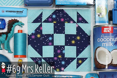 gnomeangel-farmers-wife-1930-block-69-mrs-keller (gnomeangel) Tags: modern quilt quilting patchwork tutorial farmerswife fussycutting gnomeangel fussycuttersclub farmerswife1930