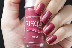 Viena, Risqu (beeanka.) Tags: rosa mauve nailpolish malva goiaba risqu esmalte antiquerose rosaantigo risquviena