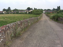 Clyst St Mary Old Road and Stone East Devon England (Bridgemarker Tim) Tags: bridges paths milestones boundarystones