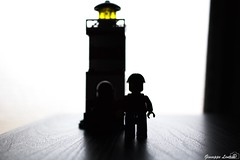 Lighthouse (PinoShot) Tags: light lighthouse window silhouette contrast toy faro lego finestra birck giocattolo mattone