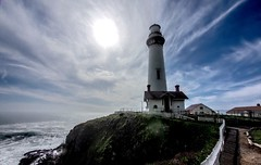 Pigeon Point Lighthouse (anothered) Tags: california lighthouse coast pigeonpoint em1