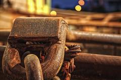 Chain (mamolnar) Tags: texture chain capemay fishingboat