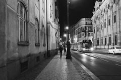 47 365+1 2016 Walking in Prague, Czech Republic (Kris McNeil) Tags: street night walking republic czech prague tram