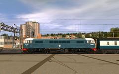 TANE - 86426 InterCity 21st Birthday repaint (skodatrainz) Tags: br mk2 ac britishrail trainz tane mk3 bluegrey mk1 class86 25kv 86426 intercity21 trainzanewera