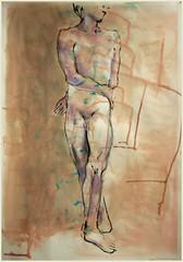 Stehender 1.Position (Alemwa) Tags: man berlin kreuzberg nude sketching mann bg aktzeichnen berlinischegalerie a alemwa vesselaposner