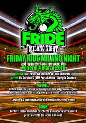 FRIDE Milano - 4 March 2016 (Airone THP TNB) Tags: milano longboarding longboardskate longdistancepumping longdistanceskateboarding longdistancepushing longboardmilano milanoskateboarding