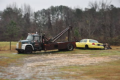 Ride-in The Coop-Deville (Harold Dawkins Photography) Tags: rescue drag nc getaway style richmond homemade rotation push approved hook wreck quick tow operator towtruck careful haul wrecker nokey nchp snatchandgo sneakandgo countyrotation