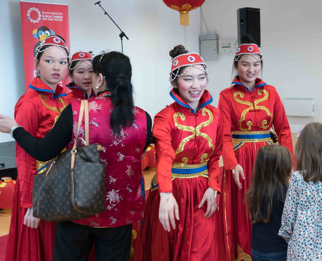 CHINESE COMMUNITY IN DUBLIN CELEBRATING THE LUNAR NEW YEAR 2016 [YEAR OF THE MONKEY]-111606