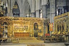 Westminster Abbey, 1960s (robin.croft) Tags: london westminsterabbey postcard