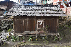 Traditional hut, Arunachal Pradesh (Paulus Veltman) Tags: india traditional hut 2014 arunachalpradesh