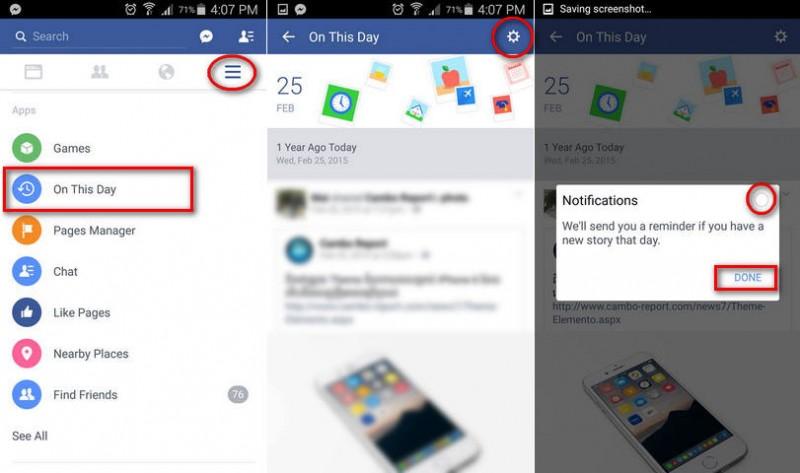 សម្រាប់អ្នកធុញទ្រាន់នឹង Facebook Memories Notification សូមធ្វើតាមវិធីនេះ! (ពត៌មានអំពីអតីតកាលរបស់យើង)