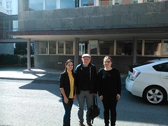 John Worrall with Amanda Guillan, Jessica Rey