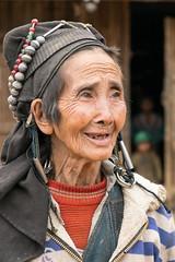 Akha grandma 1 (Laura Jacobsen) Tags: laos hilltribe akha phongsaly phongsali akhanoukouy