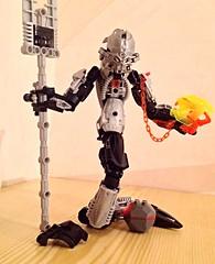 Hiss, the Naga (mbr) Tags: bionicle moc